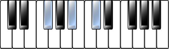 G-flat Chord
